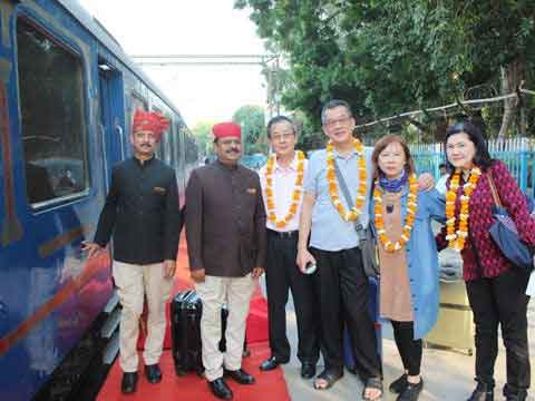 Palace on Wheels Itinerary